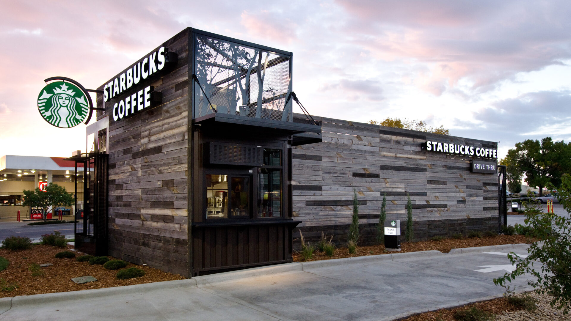 Starbucks Drive Thru in Denver