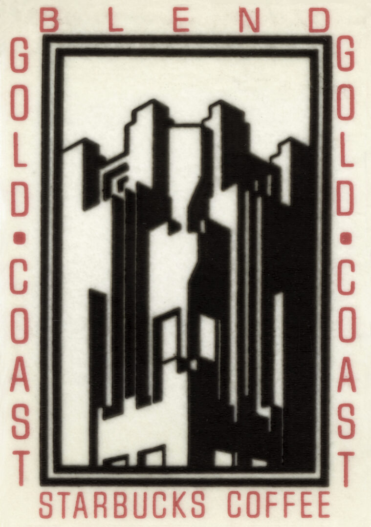 Gold Coast Blend sticker