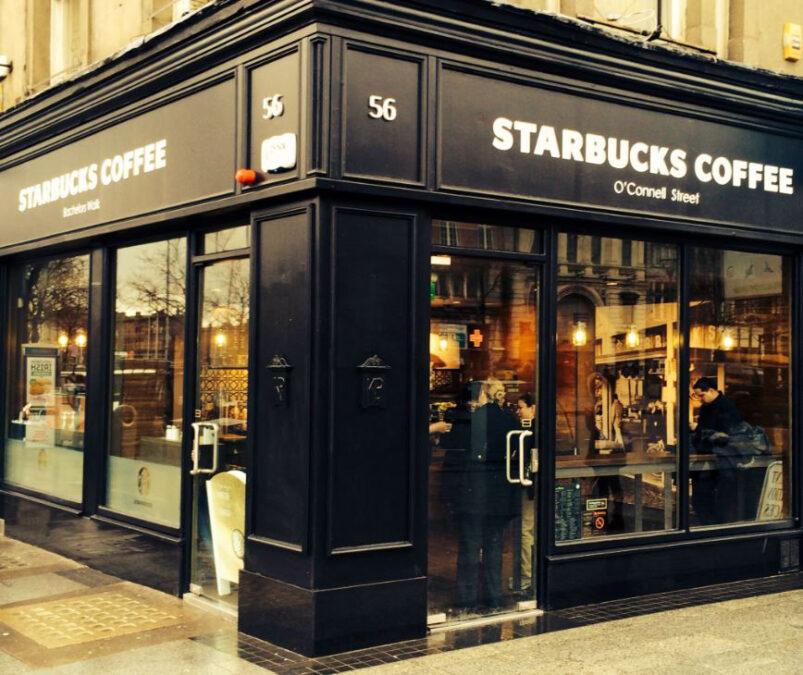 Starbucks store in Dublin, Ireland