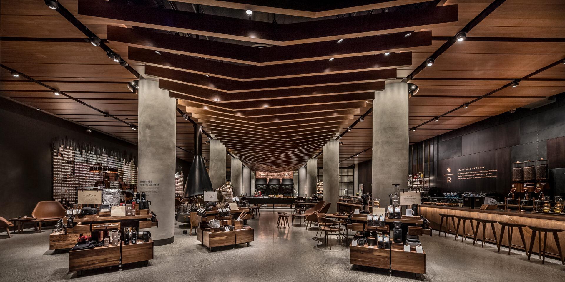 Starbucks Reserve SODO store at the Starbucks Support Center
