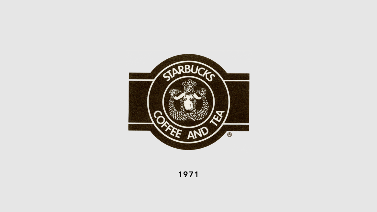 Evolution of our logo: 1971, 1982, 1992, 2011