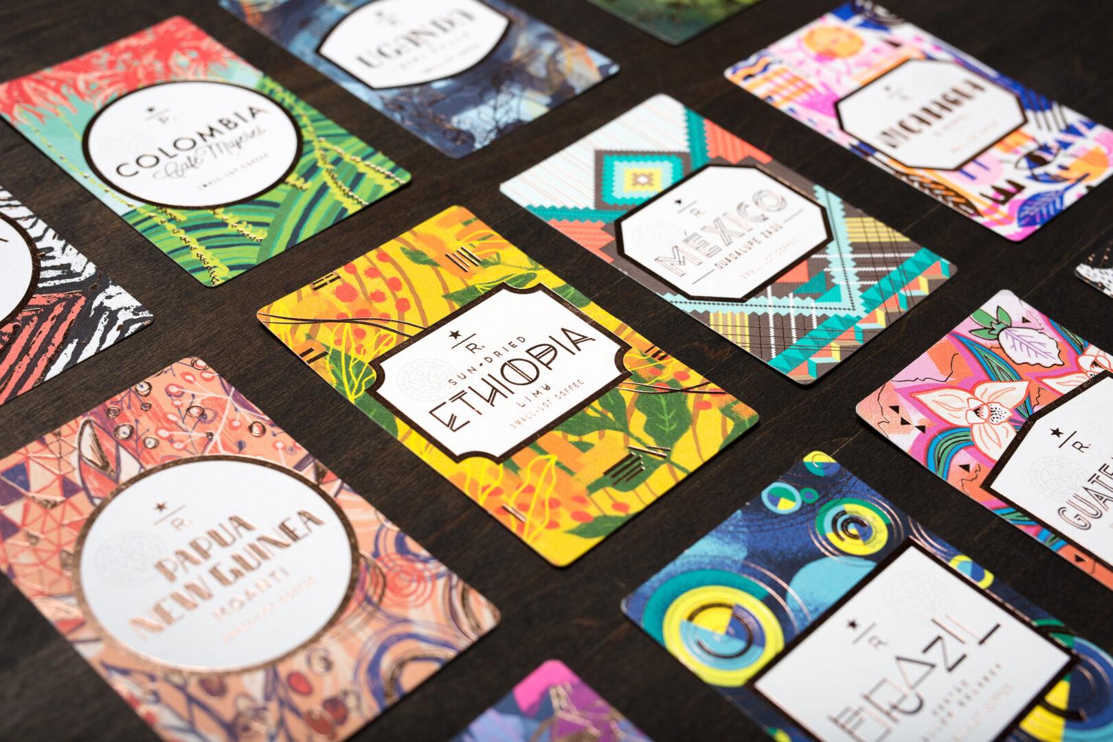 Starbucks Reserve Coffee Cards