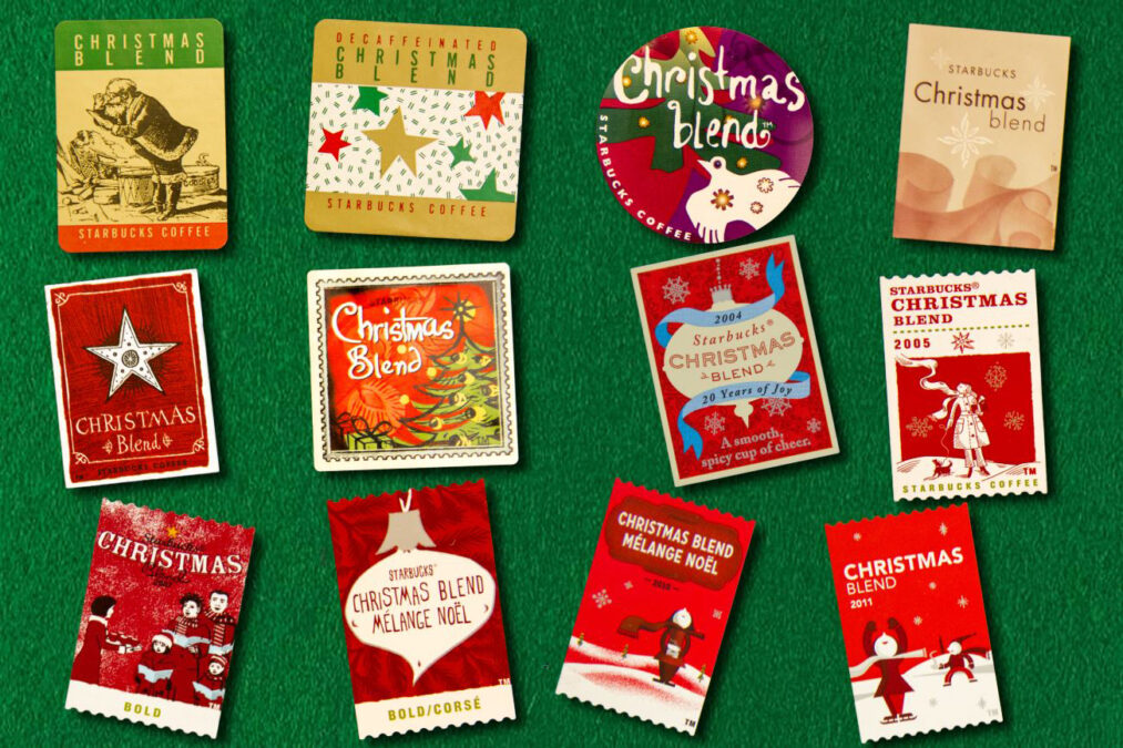 Christmas Blend Coffee Stamps