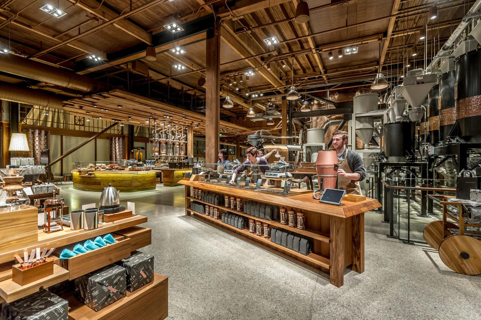 Starbucks Reserve Roastery, Seattle