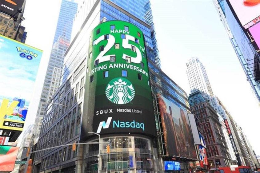 25th anniversary of Starbucks IPO, 2017