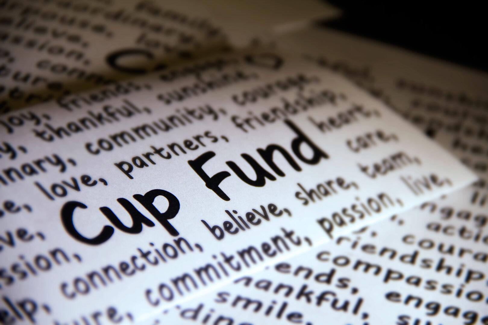Starbucks CUP Fund