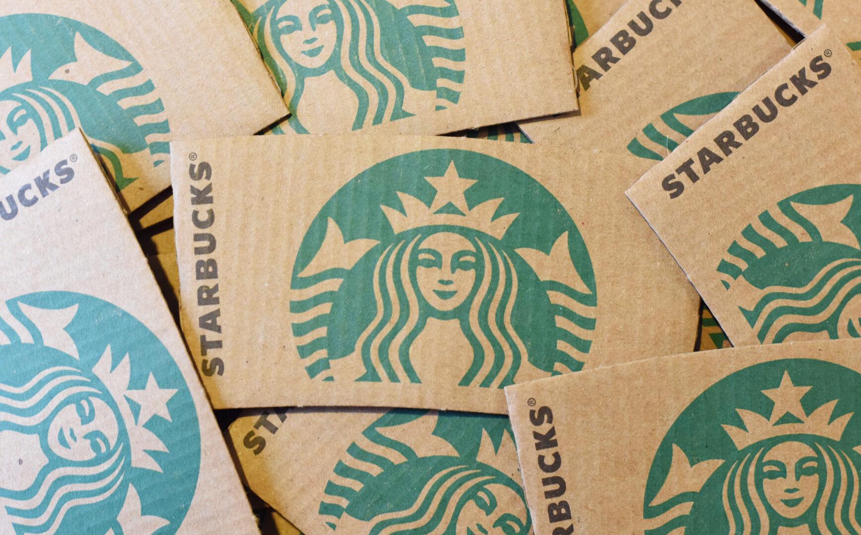 Starbucks cup sleeves